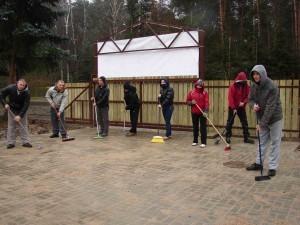Mieszkańcy Sokolnik w akcji