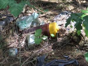 Śmieci w Sokolnikach